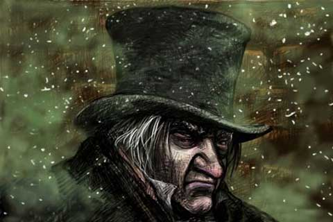 A Christmas Carol – Drawn and Told