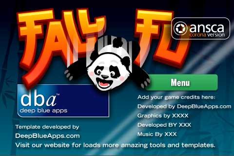 Fall Fu Panda